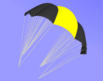 Simple NASA Parawing Kite - Pics about space